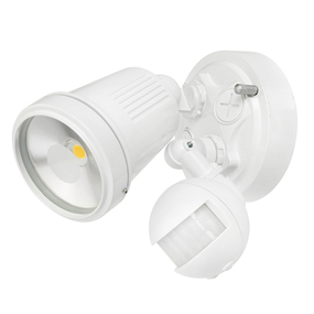 Motion Sensor Spotlight - 11W 750lm IP44 4200K 95mm White
