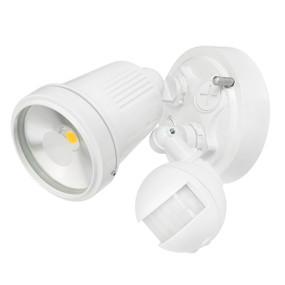 Motion Sensor Spotlight - 11W 750lm IP44 4200K 95mm White