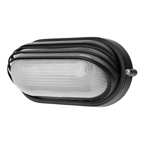 Outdoor Wall Light - 7.5W 500lm IP54 3000K 210mm Charcoal