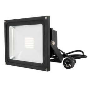 Flood Light - 30W 3000lm IP65 4200K 185mm Black