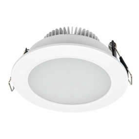 LED Downlight - Dimmable 10W IP44 Tri Colour 110mm White