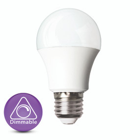 Dimmable LED Globe - E27 9W 860lm 4200K 110mm White