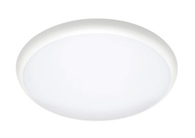 Oyster Light - 12W 1200lm IP54 4200K 250mm White