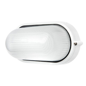 Outdoor Wall Light - 7.5W 500lm IP54 3000K 107mm White