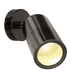 Spotlight - Adjustable GU10 35W IP65 110mm Gun Metal
