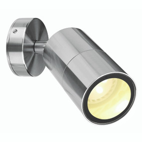 Spotlight - Adjustable GU10 35W IP65 110mm Brushed Chrome