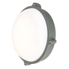 Outdoor Wall Light - 20W 800lm IP44 3000K 220mm Charcoal