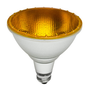 LED Coloured Globe - E27 15W 1050lm IP65 134mm Yellow