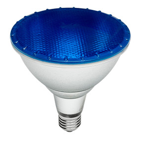 E27 PAR 38 Reflector Globe - 15W 60lm IP65 134mm Blue