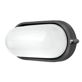 Bunker Light - 7.5W 500lm IP54 3000K 210mm Charcoal
