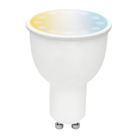 Smart Light Bulb GU10 RGB LED - Dimmable 4.5W 400lm 3000K Multi Colour