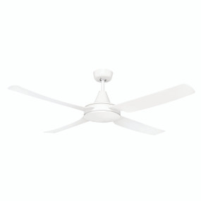 Ceiling Fan - 52 Inch 50W Motor White