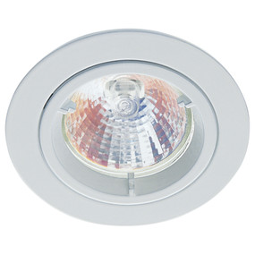 LED Downlight Kit - 12V 50W IP20 MR16 80mm White