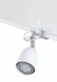 LED Clamp Lamp - GU10 4W 300lm IP20 165mm White
