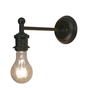 Indoor Wall Light - 42W IP20 E27 270mm Antique Brass