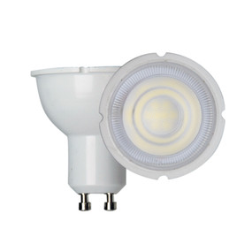 GU10 LED Globe - 7W 570lm 3000K 55mm White Non-Dimmable