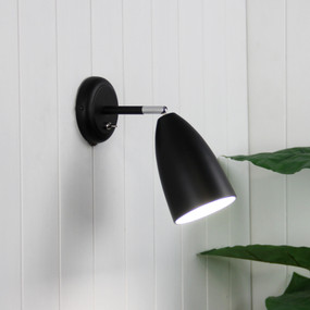 Indoor Wall Light - 42W IP20 E27 250mm Black