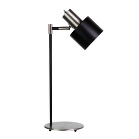 Table Lamp - 25W IP20 E27 530mm Brushed Chrome