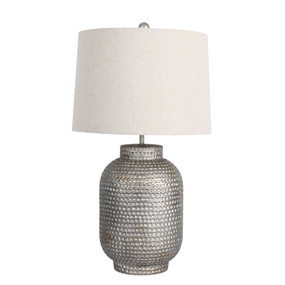 Table Lamp - 60W IP20 E27 550mm Silver