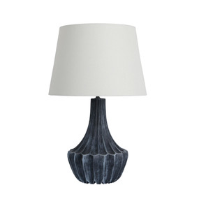 Table Lamp - 60W IP20 E27 530mm Steel Blue