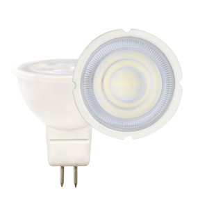 MR16 LED Globe - 12V 7W 570lm 3000K 45mm White Non-Dimmable