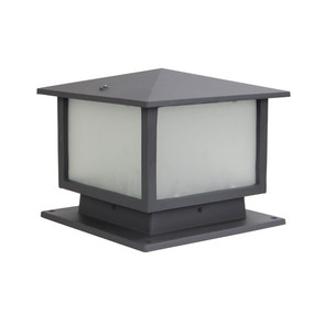 Pillar Light - 60W IP44 E27 275mm Graphite