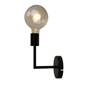 Indoor Wall Light - 42W IP20 E27 235mm Black