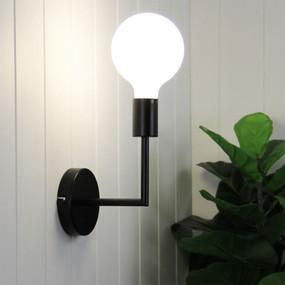 Indoor Wall Light - 42W IP20 E27 235mm Black