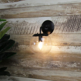 Indoor Wall Light - 40W IP20 E14 210mm Matte Black