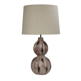 Table Lamp - 60W E27 680mm Brown