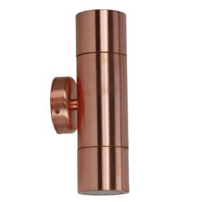 Up Down Light - 240V 35W IP65 GU10 210mm Copper