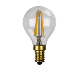 E14 LED Filament Globe - 2W 200lm E14 2700K Clear Dimmable