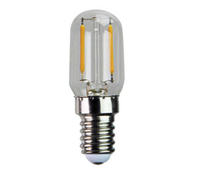 E14 LED Filament Globe - 1W 120lm E14 2700K 55mm Clear Dimmable