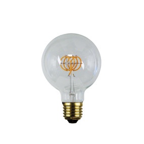 E27 LED Filament Globe - 5W 300lm E27 2200K 140mm Clear Dimmable