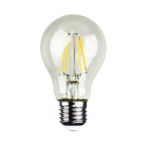 E27 LED Filament Globe - 4W 400lm E27 2700K 100mm Clear Dimmable
