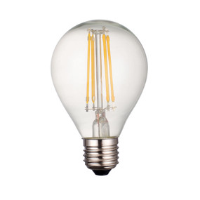E27 LED Filament Globe - 4W 420lm E27 2700K 70mm Clear Non-Dimmable
