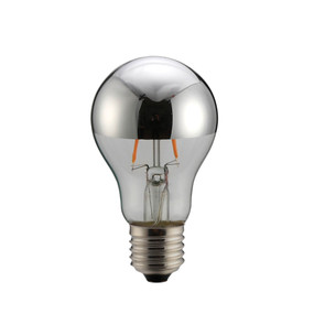 E27 LED Filament Globe - 6W 120lm E27 2700K 100mm Chrome Non-Dimmable
