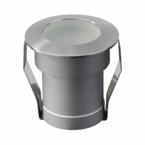 Ground Light - 24V Marine Grade 316 Stainless Steel Vandal Proof 4000K 180lm 3W IP67 IK10 4cm