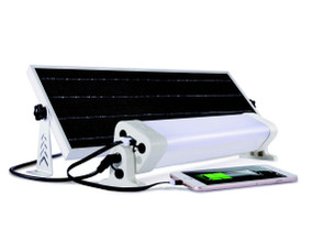 Solar Batten Light Motion Sensor Remote Control - 2400lm IP65 6000K 600mm Commercial Strength