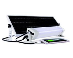 Solar Batten Light Motion Sensor Remote Control - 2400lm IP65 6000K 600mm Commercial Strength