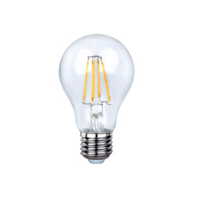 E27 LED Filament Globe - 8W 800lm IP20 6000K 105mm Clear Dimmable