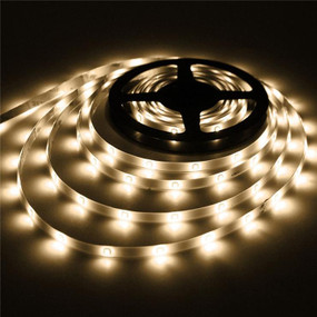 Solar Strip Light - LED 5m 8 Lighting Modes Flexible with Adhesive
