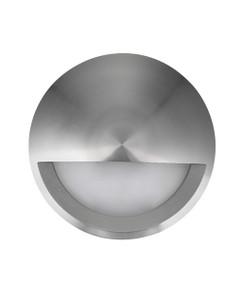 Wall Light - 12V 6W 480lm IP65 3000K 98mm Eyelid Titanium