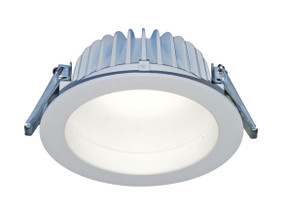LED Downlight - Dimmable 23W 1800lm IP54 5000K 230mm White Commercial Grade
