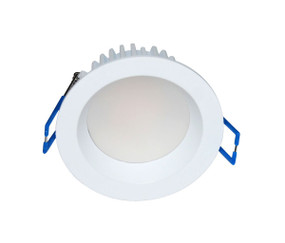 LED Downlight - Dimmable 10W 700lm IP54 3000K 82mm White