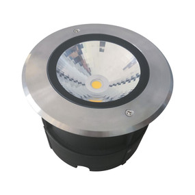 Marine Grade Inground Light - 24V 18W 1450lm IP67 IK09 5000K 233mm Chrome