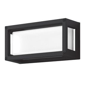 Wall Light - Vandal Resistant 7W 350lm IP65 IK08 3000K 250mm Black