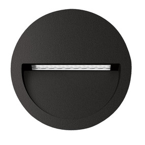 Wall Light - Vandal Resistant 4W 200lm IP65 IK08 3000K 115mm Black
