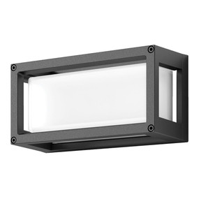Wall Light - Vandal Resistant 7W 350lm IP65 IK08 3000K 250mm Dark Grey