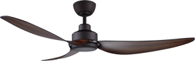 Ceiling Fan With Remote - 142cm 56in 34W Oil-Rubbed Bronze 8 Speed